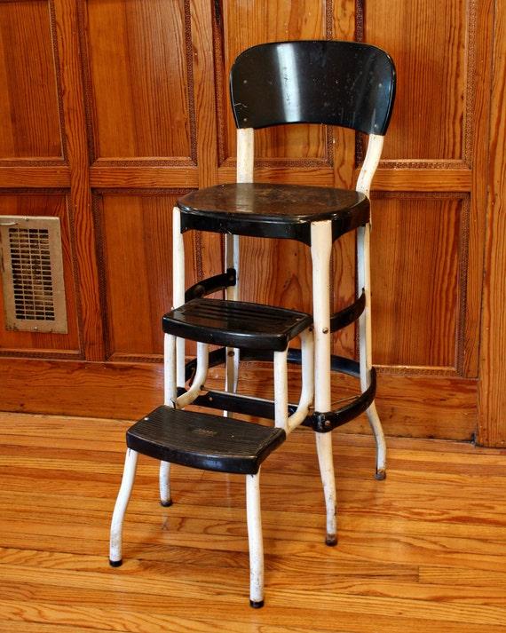 Vintage Stool Step Stool Kitchen Stool Cosco Chair