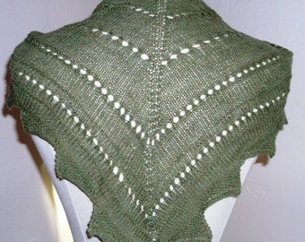 PATTERN Design your own scarf or shawl