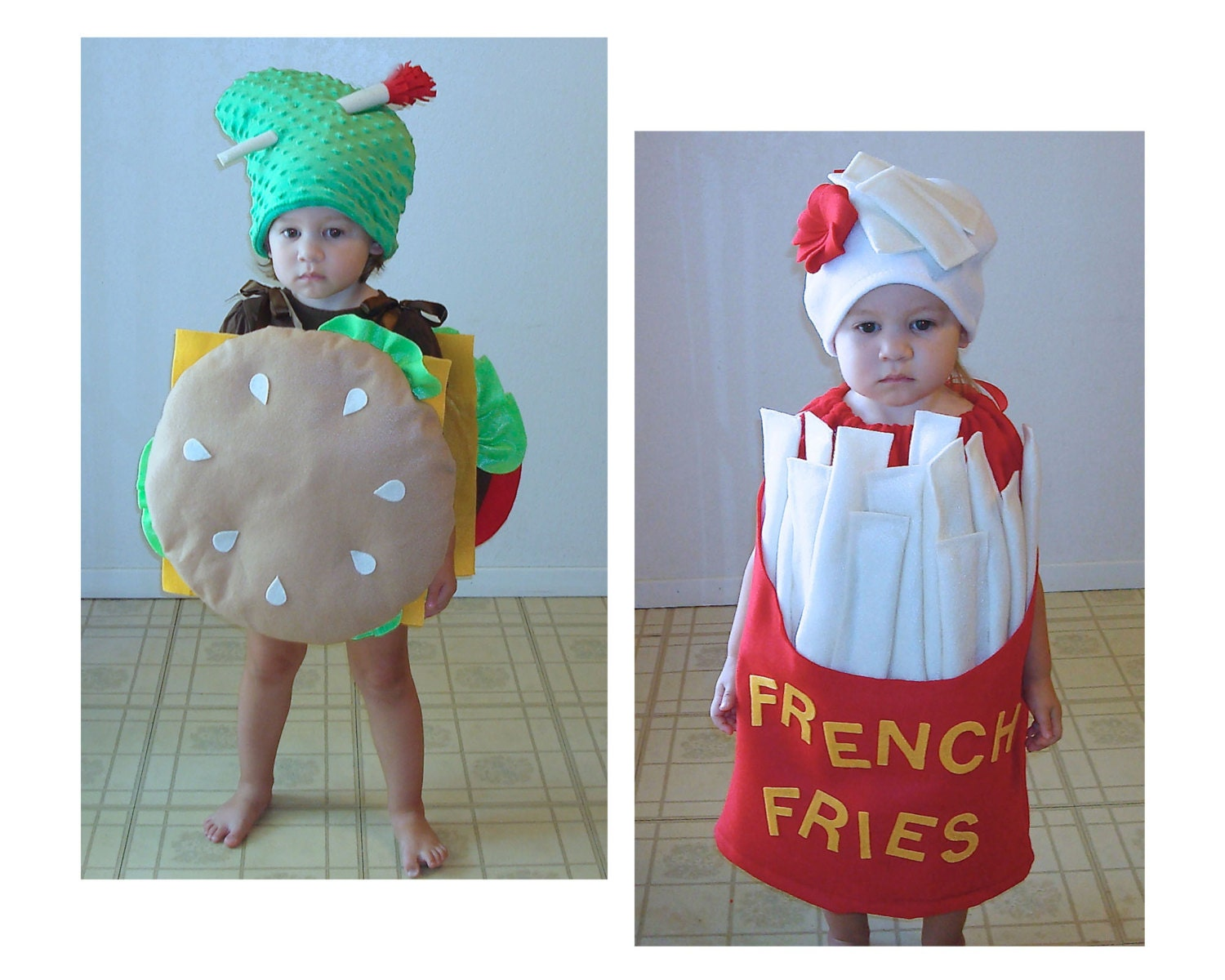 Twin Baby Costumes Halloween Twin Set Newborn Infant Toddler
