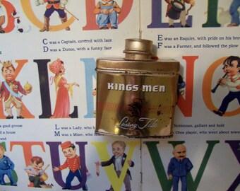 kings men luxury talc tin