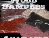 ONE Sample of WOOD Shavings, Magic WAND, Pagan, Wicca