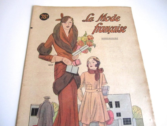 vintage clothing magazines