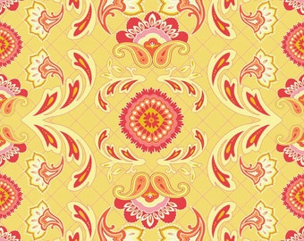 1/4 Yard Riley Blake Avignon Main Yellow, Quantities Available