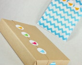 "Bird Silhouette Petite Stickys (128) 1"" Stickers with so many uses - 4 colors per package"