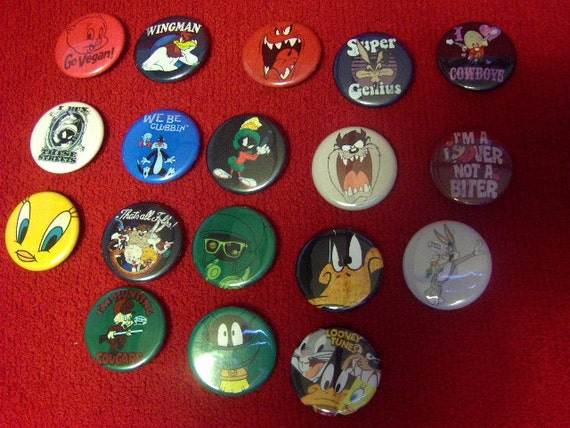 Looney Tunes Toons Pins Loony Tunes Character Pins Set of Any Three