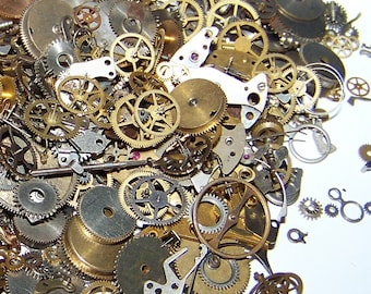 GEARS Mix Vintage and New Old Stock STEAMPUNK 5g Watch Parts Steam Punk