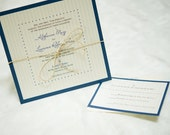 Hemp Tie Custom Invitation