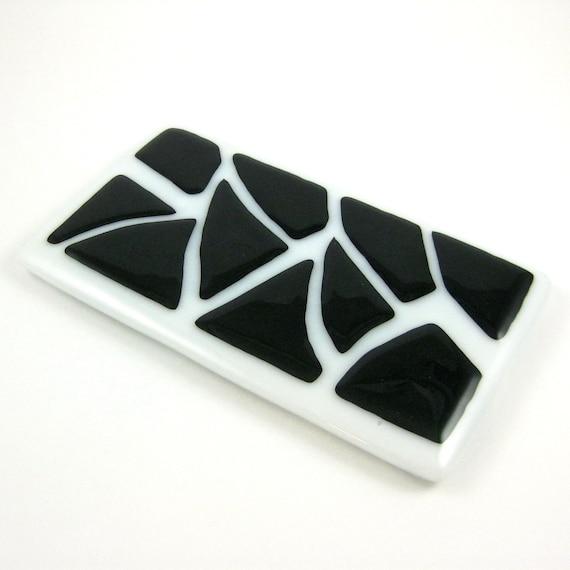 noir et blanc en fusion repose cuill re en verre. Black Bedroom Furniture Sets. Home Design Ideas