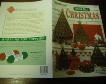 Holiday Plastic Canvas Patterns Jingle Bell Christmas The Needlecraft Shop 963381  Plastic Canvas Leaflet