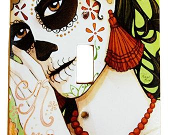 Muertos Girl Switchplate