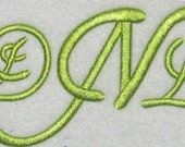 Garden Party Embroidery Font