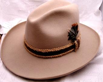 Vintage Stetson Gun Club Fedora Hat