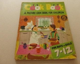 Vintage Picture Cook Book For Children by Helen Jill Fletcher