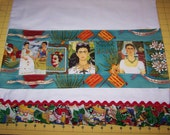 Frida Kahlo Images Pillowcases Set of 2 Handmade Designer Unique Colorful Display