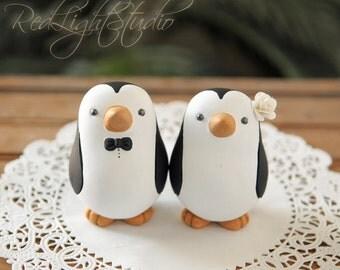Penguin Wedding Cake Topper - Medium