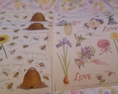 Speaking of Flowers  & But Oh Honey Stickers from Susan Branch 2 designs, 4 sheets
