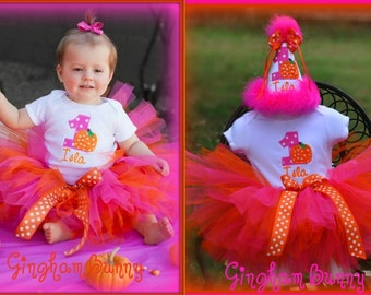 Custom Listing for bhcmfeliciano1, Hat, Onesie, TUTU and BiB (to match 2nd pic.)