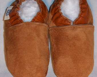 children moccasins leather soles baby mocasins - native moccasins - genuine suede moccasins-