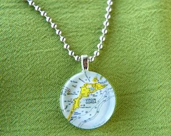 Virgin Gorda small round pendant