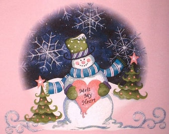 Melt My Heart Women's or Men's Christmas Winter Tee Shirt Sizes Small thru 3XL Plus Sizes Too Great for Christmas and Winter FREE SHIPPING