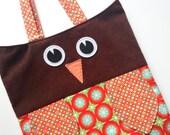 Owl Tote Bag - Wheels the Owl
