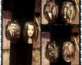 The Addams Family stretch black bracelet with 6 cool images (free shipping code)