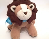 Plush Lion - LittleLuckies2