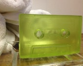 Mixed tape soap scented in spearmint