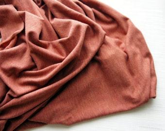 SALE Newborn Knit Stretch Wrap, Baby Layering, Baby Wrap, Orange Wrap, Baby Photo Prop, Newborn Photo Prop, Baby Stretch Wrap,