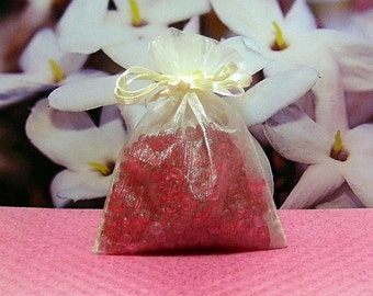 Jasmine Aroma Bead Sachets (Set of 2)  GREAT IN The CAR Air Fresheners