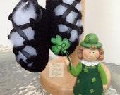 Baby Ghillies - Ballet Slippers - in five sizes newborn through toddler