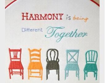 Harmony PDF Pattern