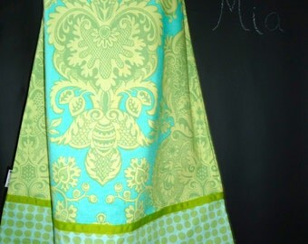 Ribbon Detail - A-line SKIRT - Amy Butler - Love - Made in ANY Size - Boutique Mia