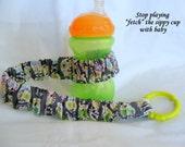Bonehead Sippy Saver - Sippy Cup Strap