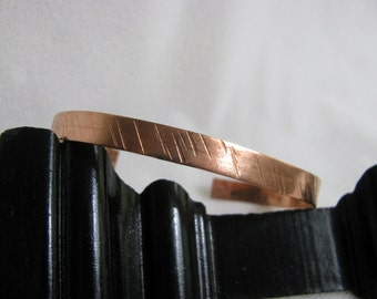 Hand Hammered Copper Bracelet  RKM445