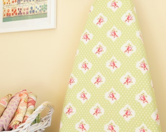 Ironing Board Cover - Rosie Dot in Green