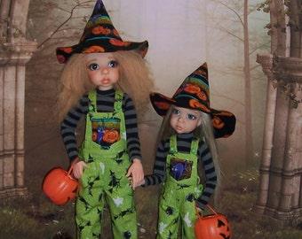OOAK Halloween fashion set for MSD BJD Girls