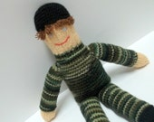 Daddy Dolls - Waldorf - Knitted Toy Dolls
