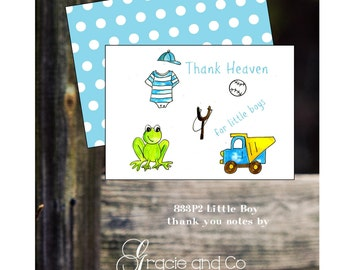 custom little boy stationery childrens notes classic baby notecards thank you notes baby shower new baby little boy notes