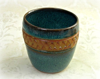 Decorative Tumbler in Blue