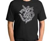 OM t-shirt, AUM, men's unisex t- shirt, Sanskrit Mens graphic tee, Gift for Him