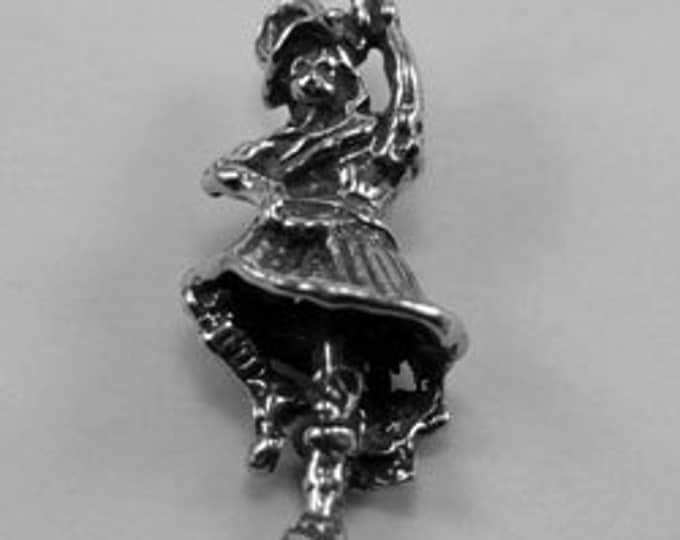 2 x small scottish dancer made with Australian Pewter.