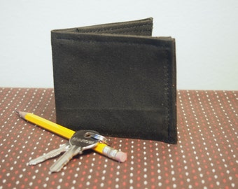 Waxed Cotton Billfold Wallet