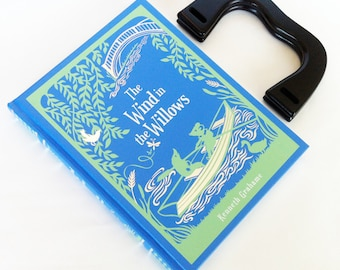 Wind In The Willows Book Purse or Book Clutch