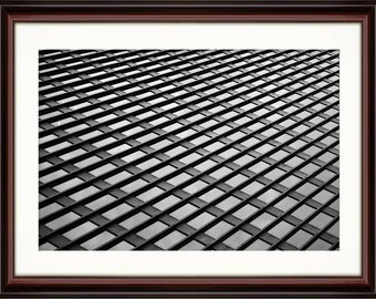 Black & White Windows - Fine Art Print