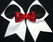 Oh Mickey Simplified Cheer Bow - Disney - by Funbows