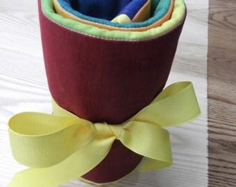 Block Crayon Roll PATTERN, Waldorf (.pdf)