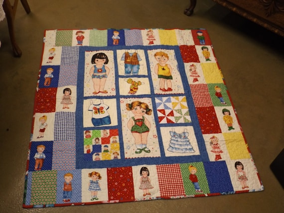 Items similar to QUILT KIT - Baby s First Paper Doll EASY Complete KiT w/ Newcastle Today s ...