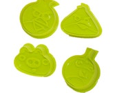 Angry Birds Cookie Cutters / Stamps - Set Of Four Cookie Cutters