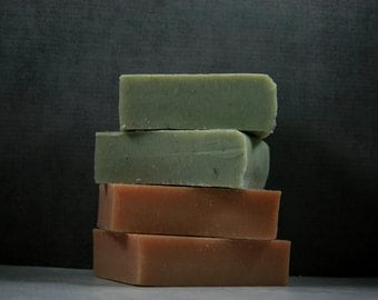 Choose Any 4 of my Luxury Handmade Soap Bars - Essential Oil Soaps - Natural Soaps
